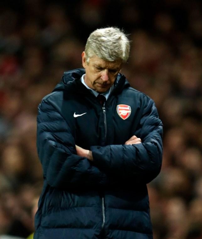 Arsenal's manager Arsene Wenger
