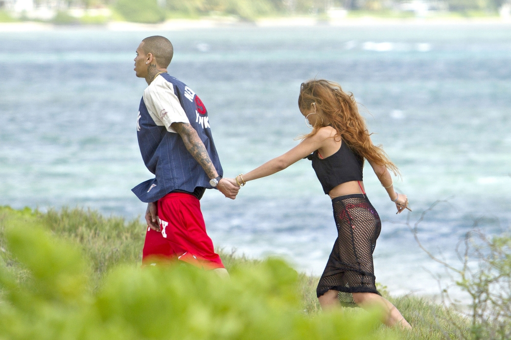 Chris Brown and Rihanna have been going strong since rekindling their romance (Picture: Xposurephotos.com)