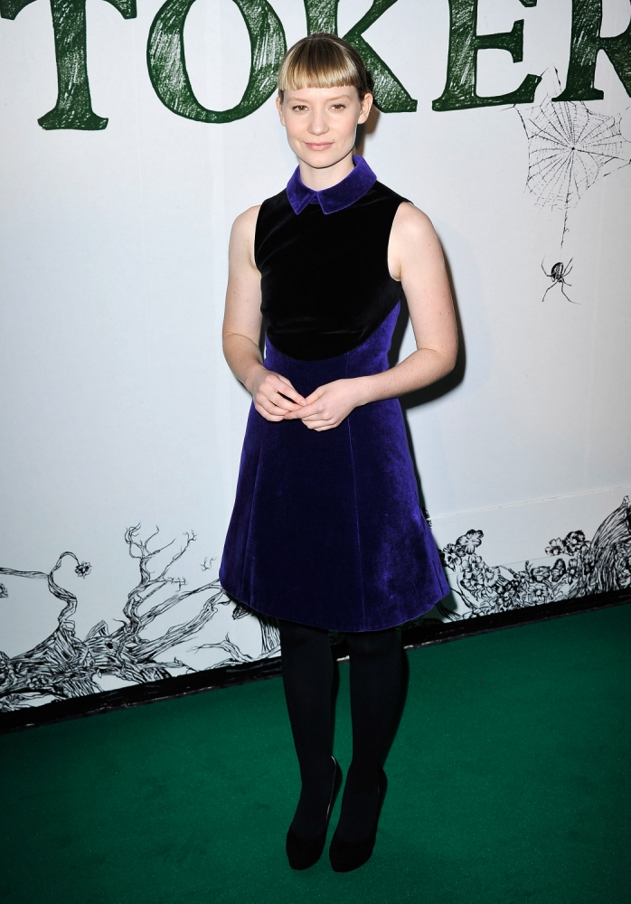 Mia Wasikowska: I grew up while filming Stoker thanks to Nicole Kidman