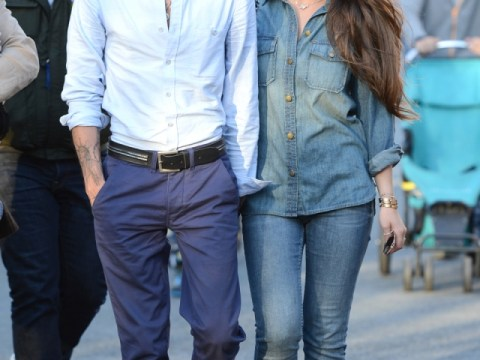 Marc Anthony and Chloe Green go public with new romance on family day out to Disneyland