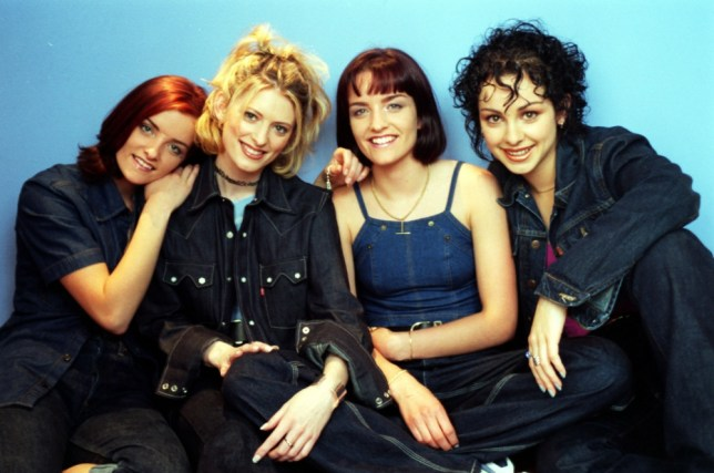 Keavy, Sinead, Edele and Lindsay, aka B*Witched (