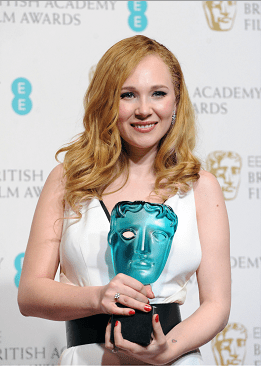 Juno Temple winner of the Bafta EE Rising Star Award