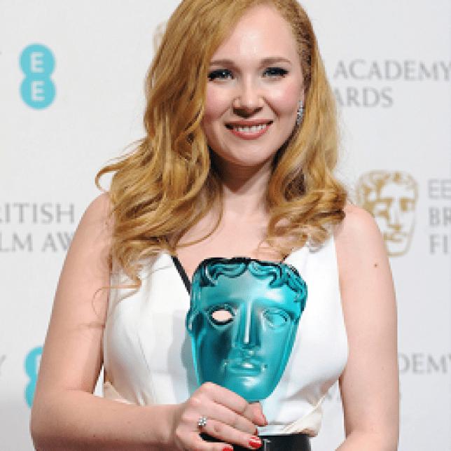 Juno Temple winner of the Bafta EE Rising Star Award
