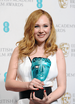 Baftas: Juno Temple is ready to celebrate after scooping the EE Rising Star Award