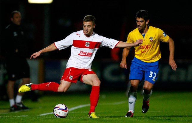 Robbie Rogers (left) made nine appearances for Stevenage this season (Picture: PA)