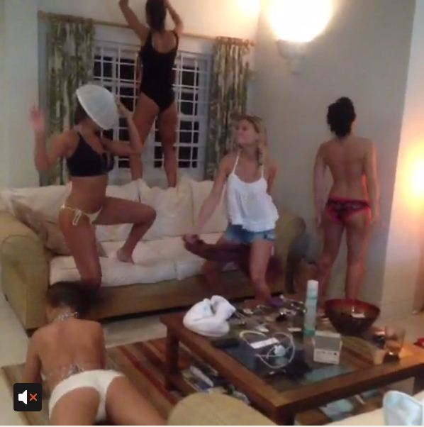 Harlem Shake: Page 3 girls strip off for raunchy dance video