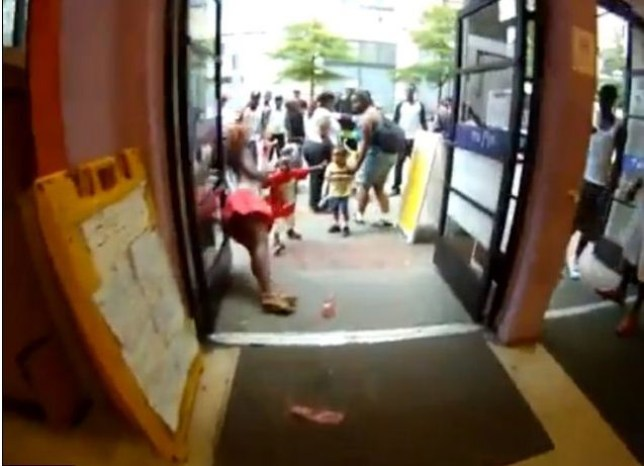 Atlanta mall manager tasers woman in YouTube video