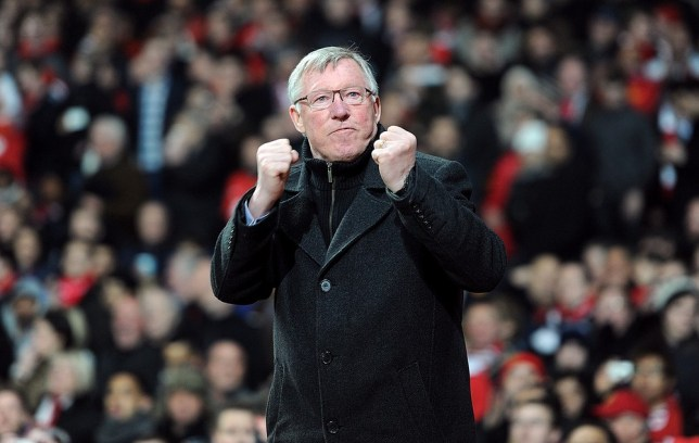 Sir Alex Ferguson wants Manchester United to bounce back from their Champions League disappointment (Picture: PA)