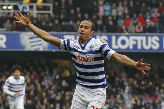 Andros Townsend helped QPR claim their first successive wins of the season (Picture: AP)