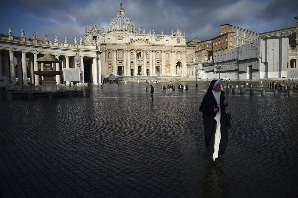 Roman Catholic cardinals begin secret voting in Vatican City for new Pope to replace Benedict XVI
