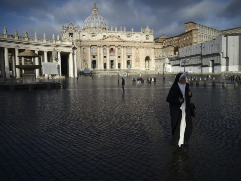 Roman Catholic cardinals begin secret voting in Vatican City for new Pope to replace Benedict XVI