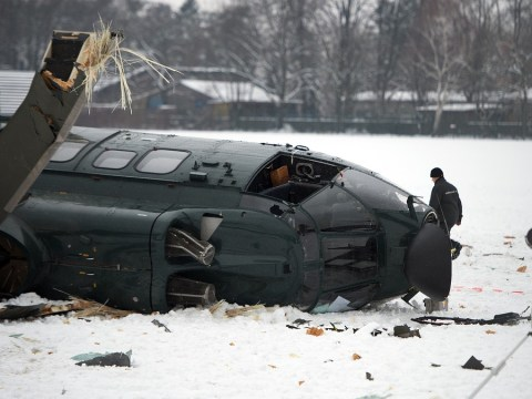 One dead as two helicopters crash near Berlin Olympic Stadium
