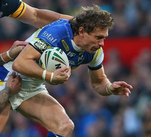 Stefan Ratchford brace helps Warrington past Huddersfield in snowstorm