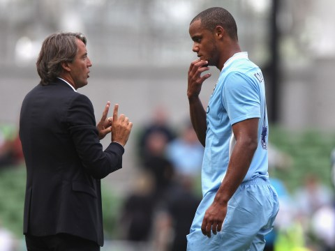 Roberto Mancini slams Vincent Kompany for 'putting Belgium ahead of Manchester City'