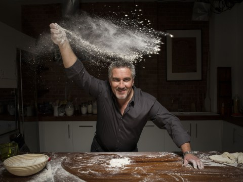 7 pictures of Paul Hollywood sensuously kneading bread