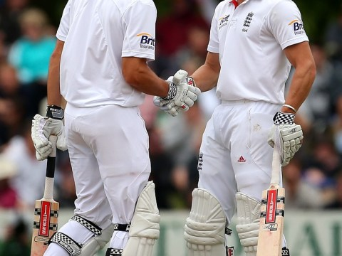 Nick Compton and Alastair Cook lead England recovery vs New Zealand