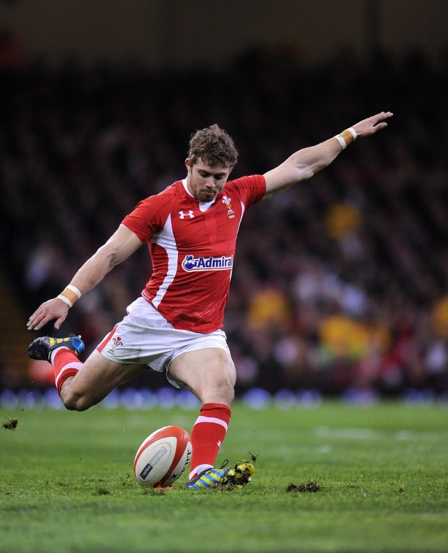 Leigh Halfpenny racked up 74 points for Wales throughout the championship (Picture:  PA)