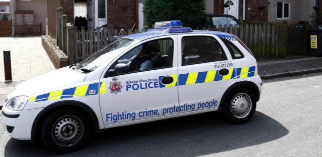 Steal police car, Manchester, Scunthorpe