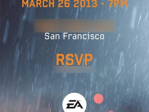 EA hint at Battlefield 4 reveal on March 26