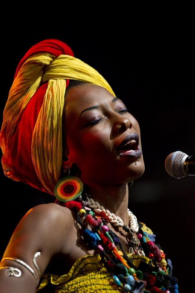 Malian singer Fatoumata Diawara