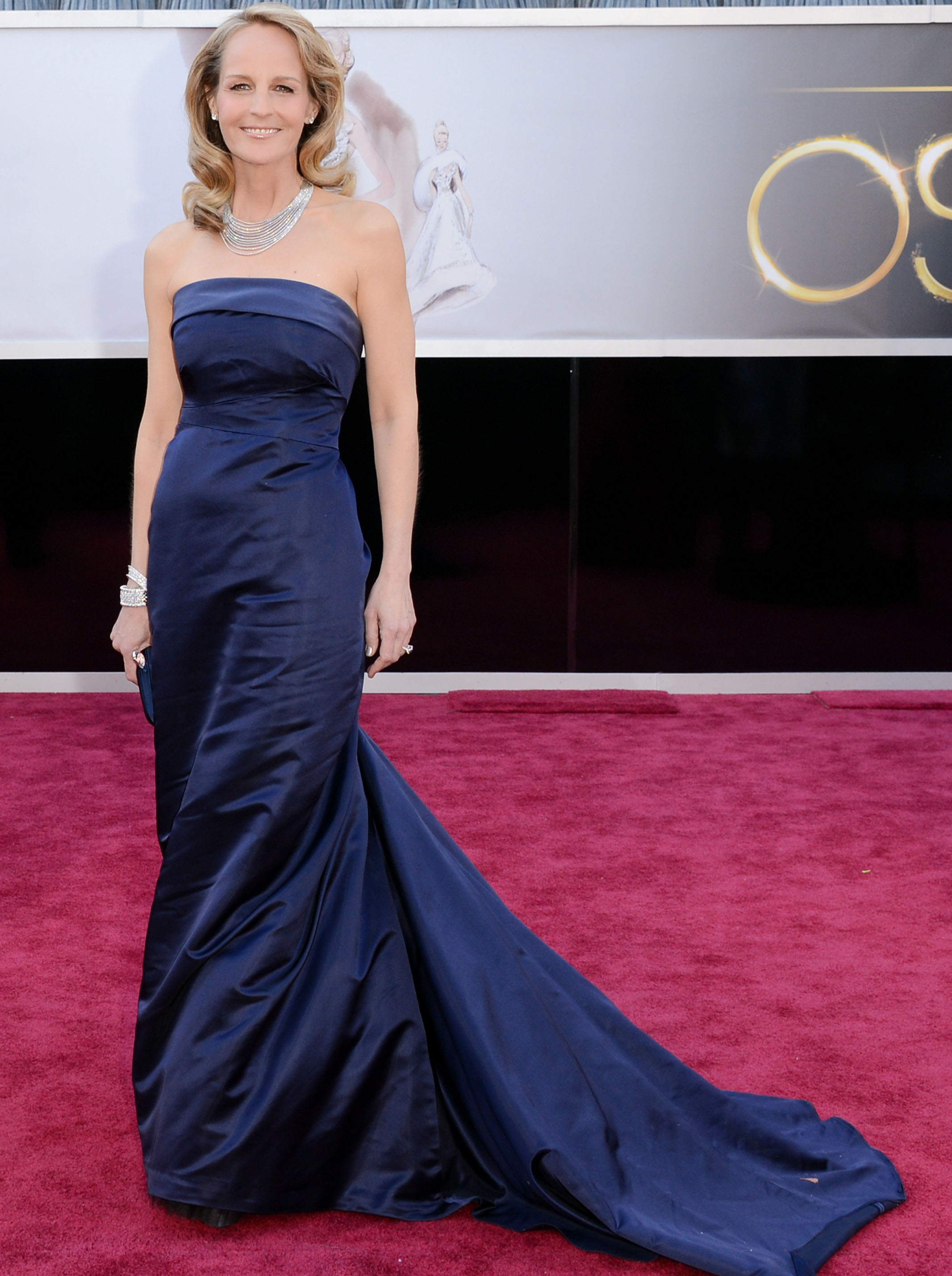Helen Hunt's H&M Oscars dress took high street fashion to the red carpet