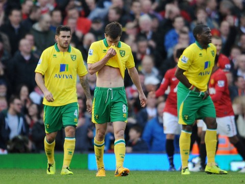 Norwich City's away-day at the 'Theatre of Dreams' typically ended in disappointment