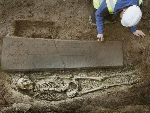 13th century knight found buried under car park