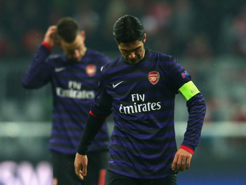 Arsenal beat Bayern Munich 2-0 but crash out of Champions League on away goals