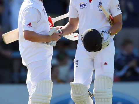 Nick Compton and Jonathan Trott give England perfect start to second Test against New Zealand