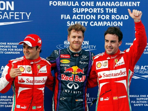 Gallery: Sebastian Vettel qualifies in pole position for Malaysian Grand Prix
