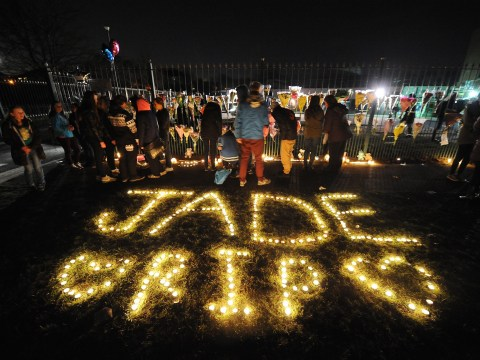 Gallery: Candle light vigil held for Jade Anderson following fatal dog attack – 27 March 2013