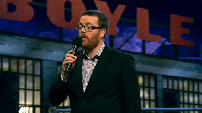Will Frankie Boyle return to the BBC? (Picture: Channel 4)
