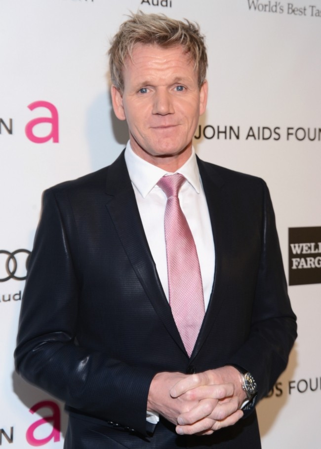 Gordon Ramsay blasts 'evil' father-in-law Chris Hutcheson