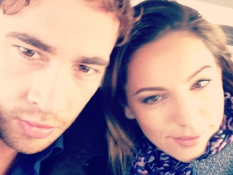 Kelly Brook confirms she's back with ex Danny Cipriani after posting cosy 'lovers' snap