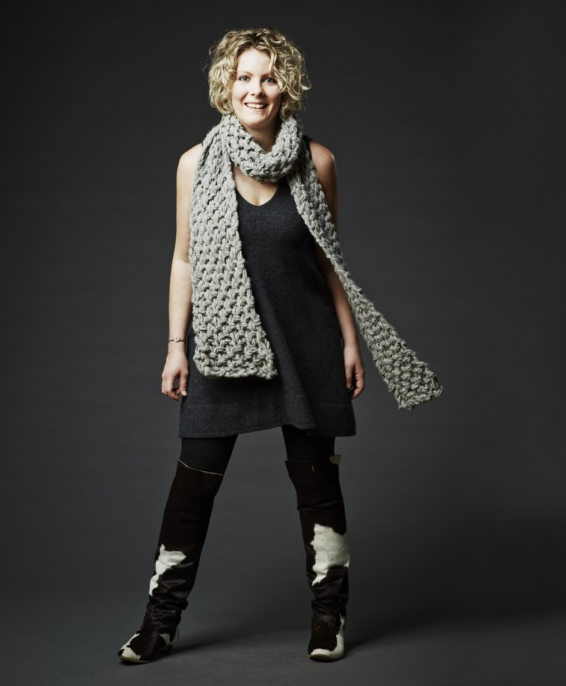 What I Wear: Kerry Lord, 28, knitter extraordinaire and founder of The Toft Alpaca Shop