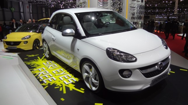 Vauxhall's Adam supermini will work with Siri, Apple's digital personal assistant (Picture: File)