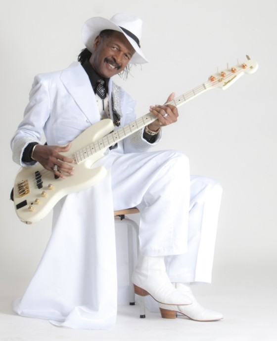 Larry Graham is the go-to bass player for funk superstars (Picture: Erich Francois)