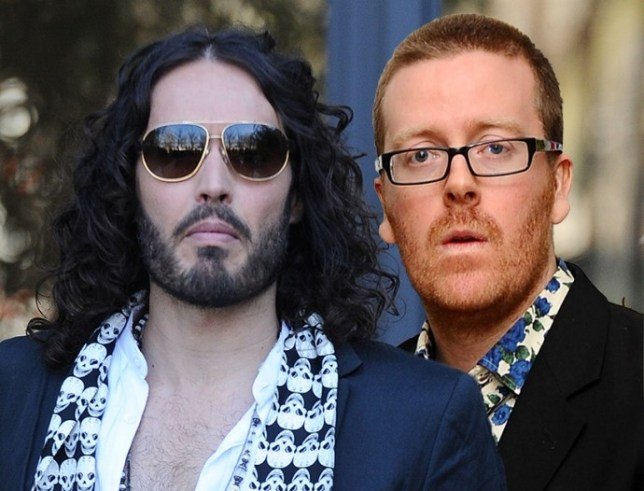 Russell Brand and Frankie Boyle