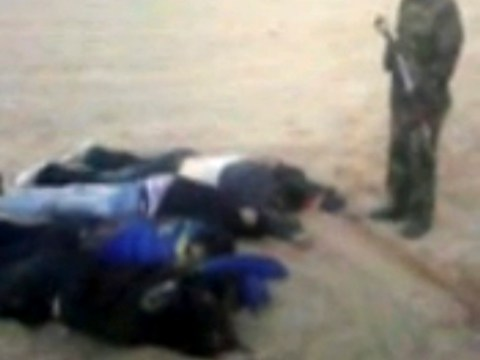 Corpses of hostages held by Islamic extremists in Nigeria shown in video