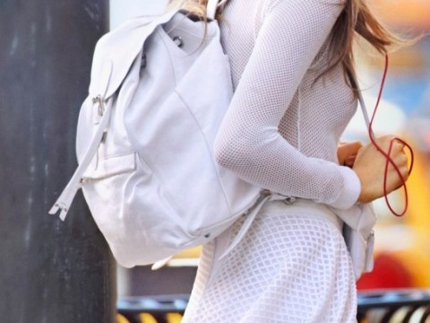 Cara Delevingne and Rihanna: Pretty backpacks for cool kids