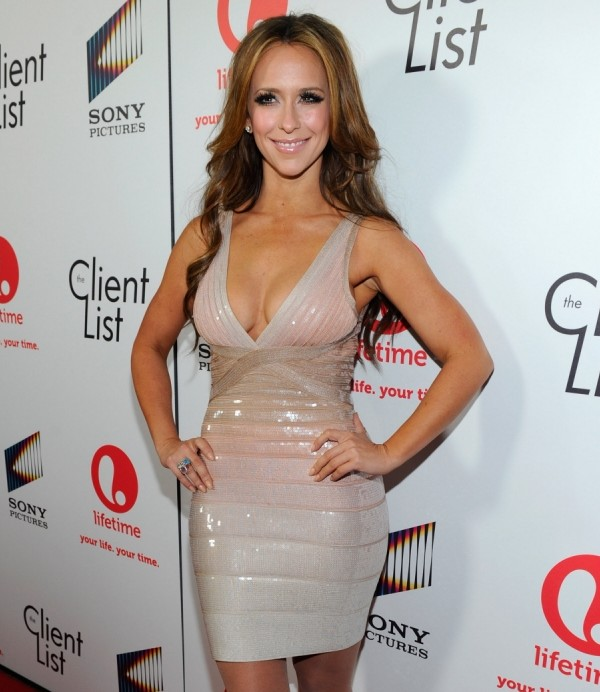 """WEST HOLLYWOOD, CA - APRIL 04:  Actress Jennifer Love Hewitt attends the red carpet launch party for Lifetime and Sony Pictures' """"The Client List"""" at Sunset Tower on April 4, 2012 in West Hollywood, California.  (Photo by Alberto E. Rodriguez/Getty Images For Lifetime)"""