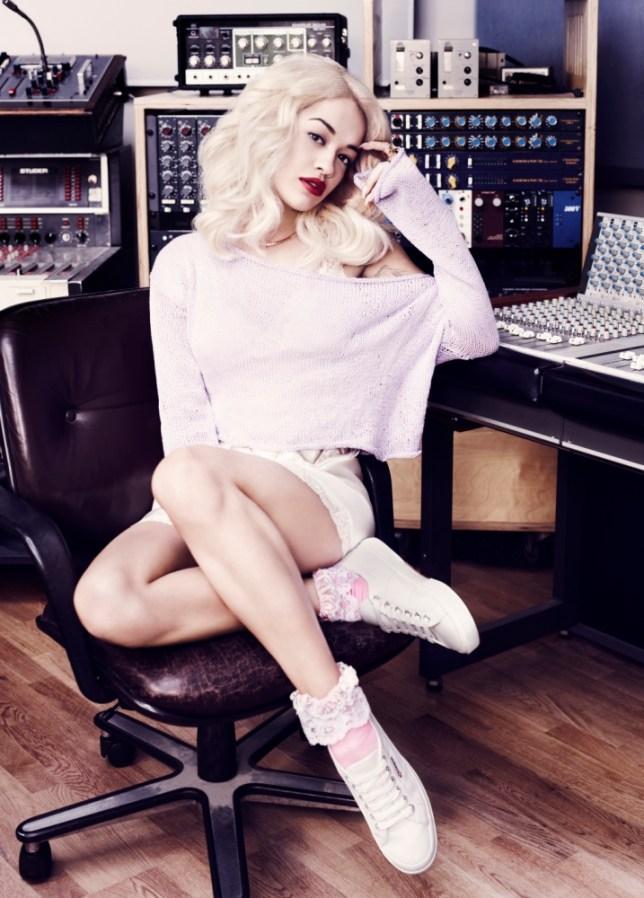 Rita Ora is the face of Superga's spring 2013 campaign