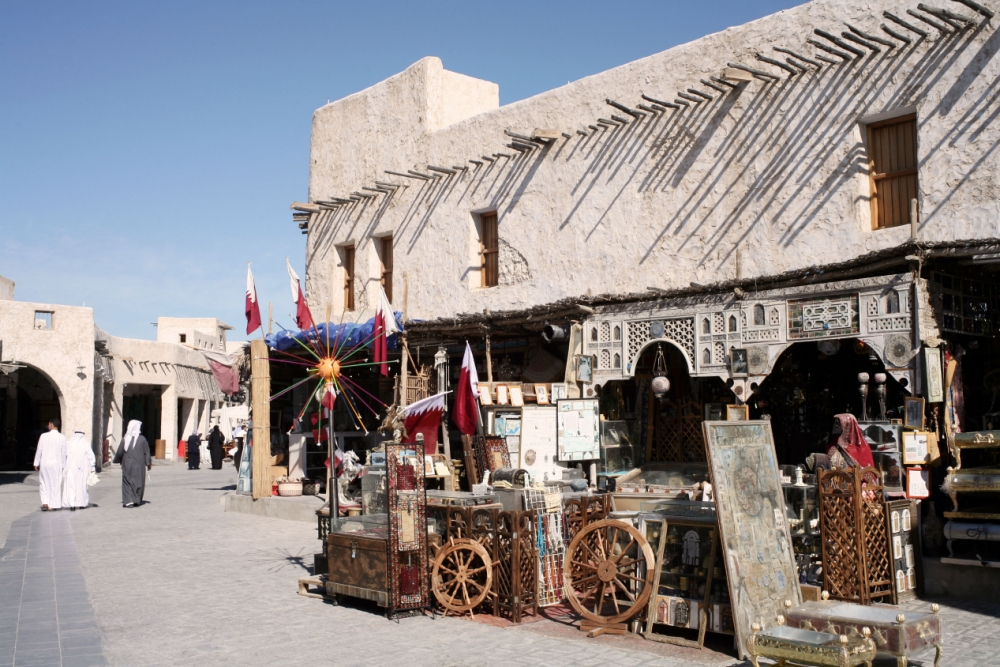 Travel to the Qatari capital Doha and find a city on the up