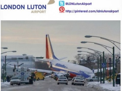 Luton Airport posts Facebook joke about Chicago plane crash which killed boy