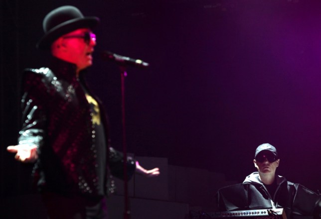 File photo dated 22/08/10 of Neil Tennant (left) and Chris Lowe of The Pet Shop Boys who have left their record company Parlophone after nearly three decades, to sign with a newly-established label. PRESS ASSOCIATION Photo. Issue date: Thursday March 14, 2013. The departure comes just a month after it was announced Parlophone was being sold to Warner Music, following many years of being part of EMI. Pet Shop Boys - whose hits have included West End Girls and It's A Sin, and have sold more than 50 million records - will release a new album called Electric in June. See PA story SHOWBIZ PetShopBoys. Photo credit should read: Yui Mok/PA Wire