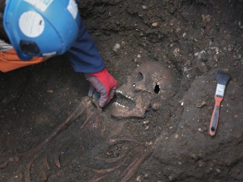 'Black Death' victims unearthed as Crossrail excavations reveal 12 Middle Ages skeletons