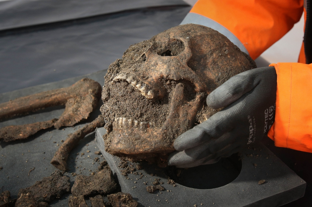 Gallery: Black Death burial site discovered at Crossrail site