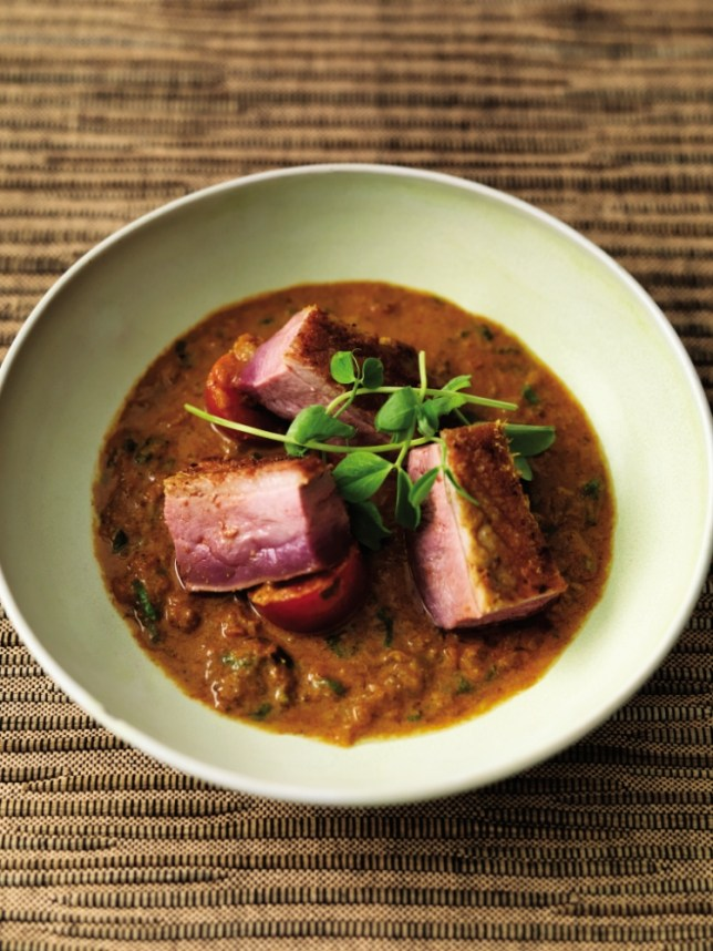 Try Atul Kochhar's Bangladeshi duck curry from his new book, Atul's Curries Of The World (Picture: Mike Cooper)