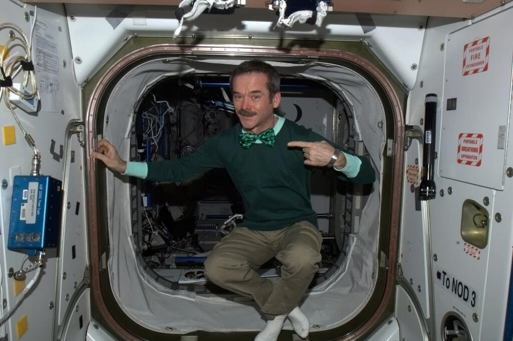 Commander Hadfield records St Patrick's Day version of Danny Boy from International Space Station