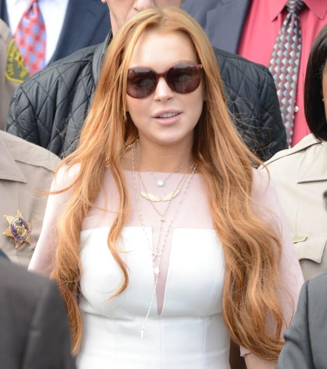 Lindsay Lohan Sentenced To Jail, Rehab